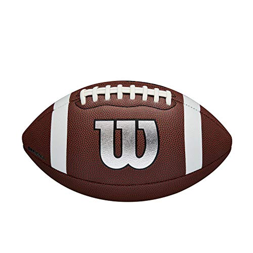 Wilson American Football NFL LEGEND, Für Einsatz in der Freizeit, Offizielle Größe, Komposit-Material, WTF1729XB