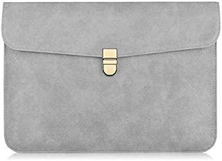 Yuanzengjunfva Laptop Bag 12/13/14/15.6 Inch Men and Women Notebook Case (Color : Grey, Size : 14 inch)