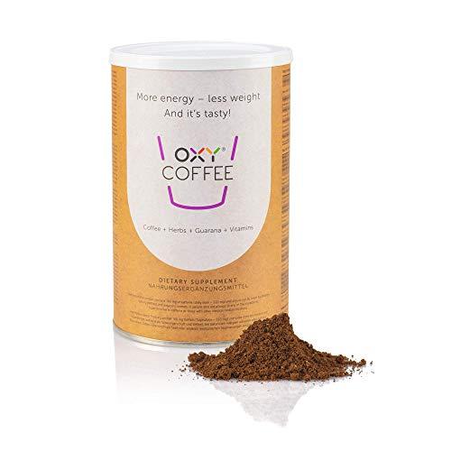 OXY Coffee Schlankheitskaffee Kräuterkaffee |Natürlicher Kräuterkaffee-Extrakt|ausgewählten Röstkaffeesorten, Magerkakao Vitaminen und Mineralstoffen zusammen mit Leinsamen und Kräuterextrakt
