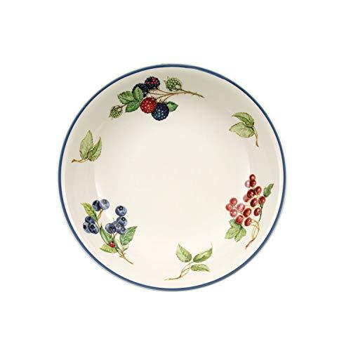 Villeroy & Boch Assiette à pâtes/plat creux Cottage 23 cm (10-1115-2695), Porcelaine Premium, Convient pour 1 Personne, 1 Assiette
