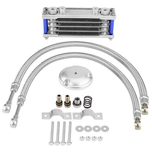 Kimiss Motorolie-koeler, transmissie, motorfiets, olie-koeling + filteradapter