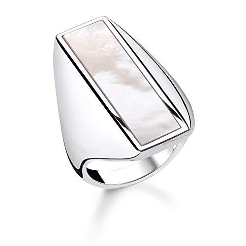 THOMAS SABO Damen Ring Perlmutt 925er Sterlingsilber TR2220-029-14