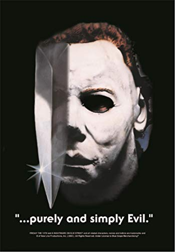 HALLOWEEN FLAGGE FAHNE MICHAEL MYERS PURELY & SIMPLY EVIL