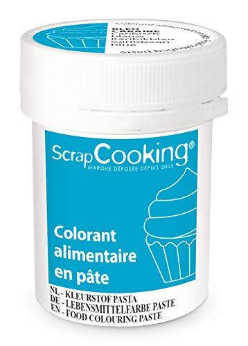 ScrapCooking Colorant en Pâte Bleu Caraïbes 20 g