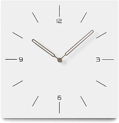 Jpettie Large Modern Wall Clocks, No Ticking Silent Wall Clock, Silent Quartz Home Decorative