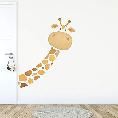 Turani Child Room Max 59% OFF Wall Toddler sale Decal Giraffe Fabric