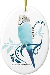 Best Blue Parakeet Ceramic Ornament Review