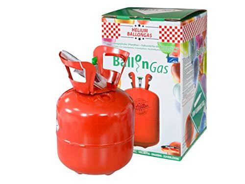 Falkenheyn heliumgasfles, heliumgas, helium, gasfles, ballon, gas, ballongas, wegwerp voor ca. 20 ballonnen + beugelpatch.