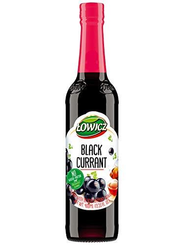 Lowicz schwarzer Johannisbeersirup, 400 ml