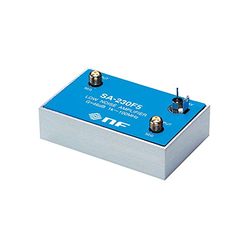 Cheap NF Corp. Low Noise Amplifier SA-230F5, 1kHz to 100MHz