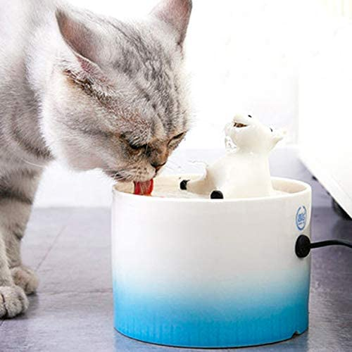 1.2 L Ceramic Cat Water Dispenser Automatic Circulat Louisville-Jefferson County Mall Silent Pet 2021 spring and summer new