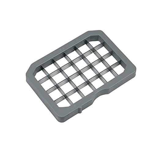Bosch 633442 00633442 - Cortador de dados (13 x 13 mm, hoja de rejilla), color gris