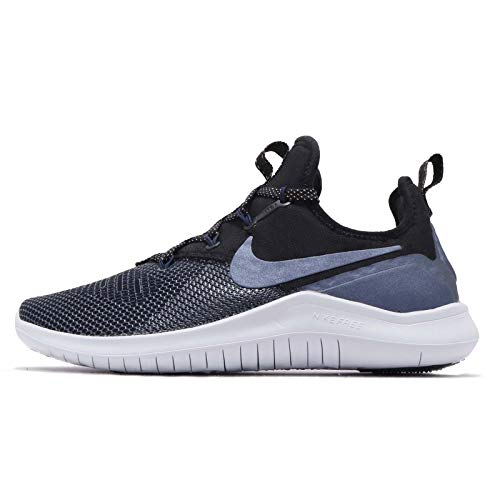 Nike Womens Free TR 8 Athletic Trainer Running Shoes, Black/Mtlc Armory Navy, 9