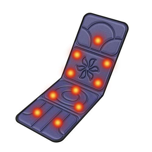 DOOB マッサージマットレス スリープ折りたたみ床 マッサージ機 マッサージ クッション シート マットレス チェア 電動 パッド 10つのもみ玉