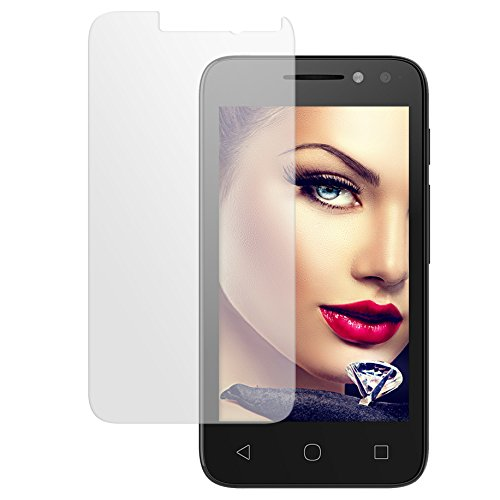 mtb more energy® Protector de Pantalla de Vidrio Templado para Alcatel One Touch Pixi 4 (4034D, 4.0'') - 9H - Cristal Tempered Glass