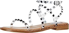 Pyramid Studs Gladiator Sandal . 5 inch heel height Strap Type: Slingback