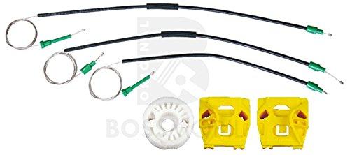 Bossmobil 9-3 (YS3F), (Kombi), Delantero izquierdo, kit de reparación de elevalunas eléctricos