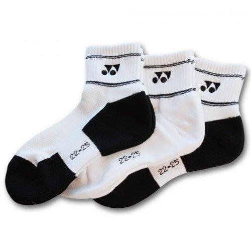 Yonex W-8423 - Conjunto de calcetines (3 pares) Talla:small