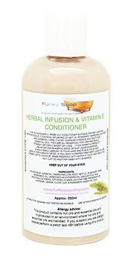 1btl Herbes Infusion & Vitamine E Après-shampooing 250ml Cheveux Sec/Irrité Cuir Chevelu