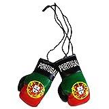 Portugal Banderas Mini Guantes de Boxeo para Coche o Hogar