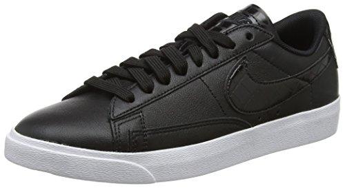 Nike W Blazer Low Ess, Scarpe da Fitness Donna, Nero (Black/Black/Black 001), 40.5 EU