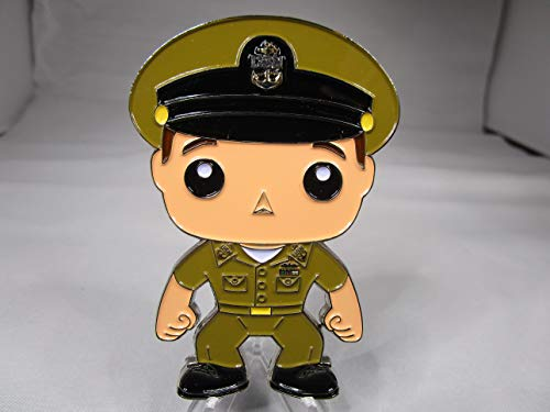 USN Oversized Head Style Male Navy Chief Navy Pride Khaki Uniform CPO Challenge Coin