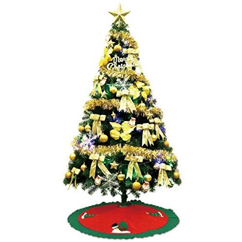 Sapin de Noël Arbre de Noël - Décorations de Noël, décoration artificielle de famille d'arbres de Noël artificiels de 120cm (Couleur : C)