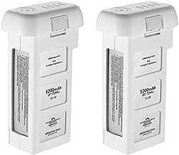 Powerextra 2-Pack 11.1V 5200 mAh LiPo Intelligent Battery Repleacement for DJI Phantom 2, Phantom 2 Vision and Phantom 2 Vision Plus