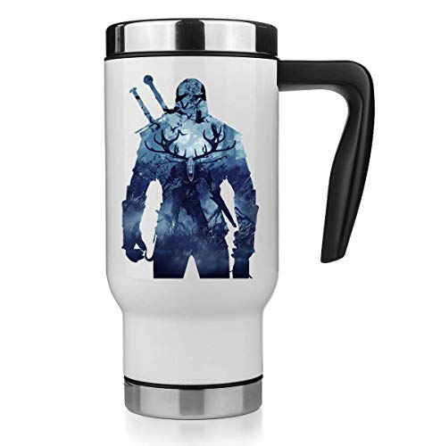 KRISSY The Witcher Background Thermo Mug Thermotasse Thermal Tasse Coffee