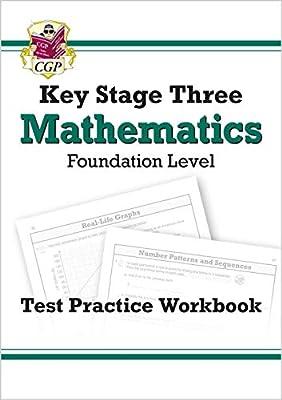 KS3 Maths Test Practice Workbook - Foundation (CGP KS3 Maths) from Coordination Group Publications Ltd (CGP)