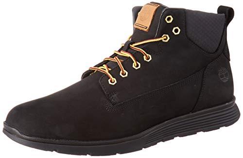 Timberland Herren Killington Chukka Sneaker Halbhoch, Schwarz (Black Nubuck 1), 43 EU