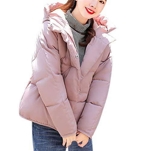 Shangyi Winterjas voor dames met capuchon, Corta-jas voor dames, herfst en winter