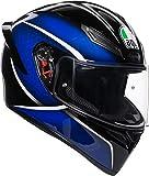 AGV K1 Qualify Bleu Casque De Moto Integral Taille MS