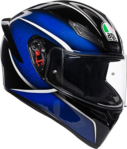AGV Casco integrale K-1 MULTI Qualify ML Nero/Blu