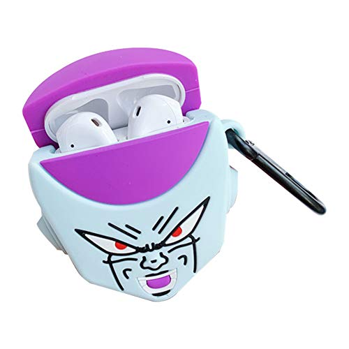 HomMall Cute Cartoon Case for Apple Airpods 1 & 2 Charging Case, Japanese Anime Character Hard Protective Case for Airpod Cover for Kids Teens(Dragon Ball Z-Piccolo)