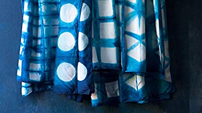 Time to tie dye! Customize a scarf with Australia'a most Famous indigo artists by