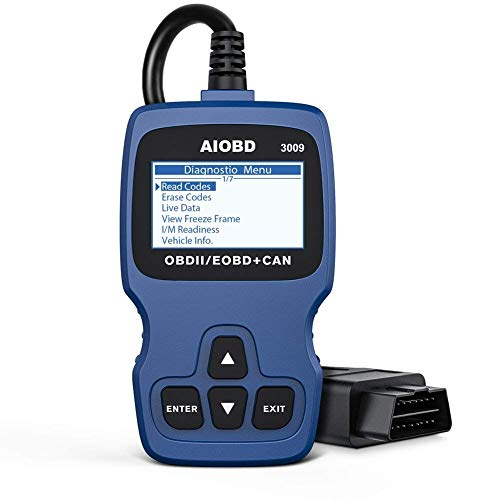 AIOBD 3009 OBD2 Code Reader, Automotive Engine Fault Code Reader CAN...