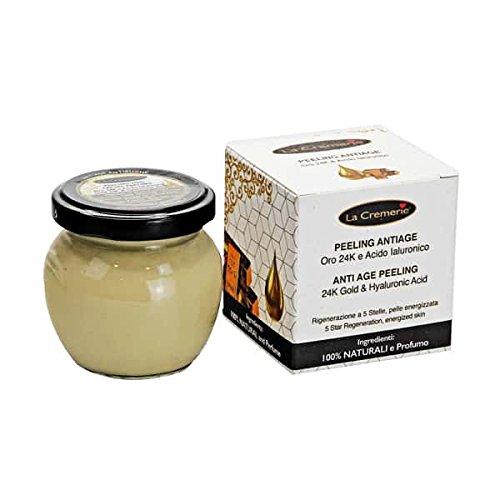 Peeling antiage oro 24k e acido ialuronico - La Cremerie