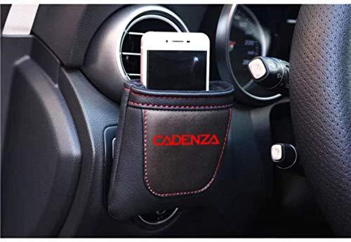 Coche Salida de aire Stow ordenado del bolso de almacenamiento for Kia Cadenza, cuero de la PU Colgando de almacenamiento caja for llaves del coche / Teléfonos móviles / Lentes / plumas, accesorios de