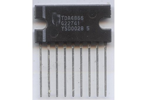 TDA4866 vertical deflection booster for CRT TV