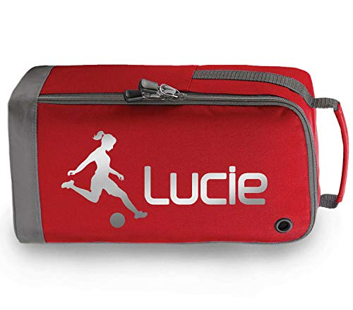 Beyondsome Personalisierbare Fußball-Sporttasche für Mädchen, Fußball-Schule, PE-Set Geschenk
