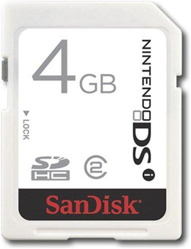 Sandisk 4GB DSi/Wii SDHC Memoria Flash Clase 2 - Tarjeta de Memoria (4 GB, SDHC, Clase 2)
