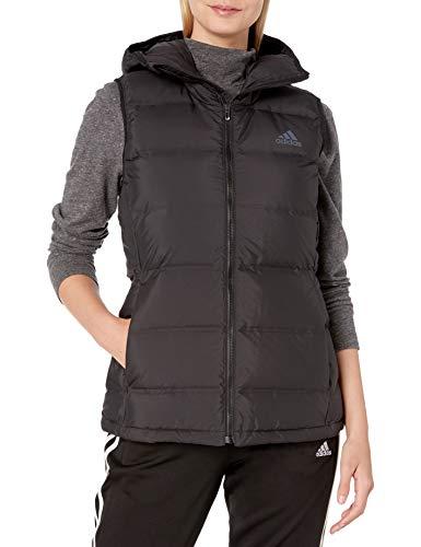 adidas womens Helionic Down Vest Black X-Small
