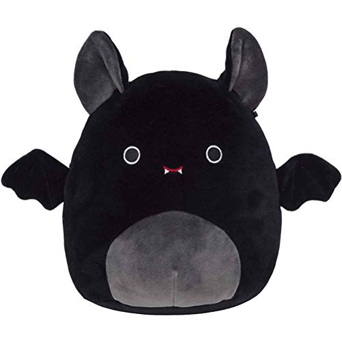 ZIXIXI Juguete de peluche de murciélago de Halloween, juguete de peluche 2021, multicolor, súper suave, almohada de peluche, animal de peluche para decoración de Halloween