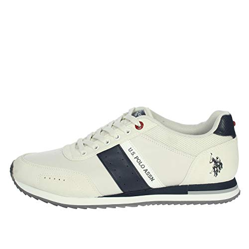 U.S.POLO ASSN. Sneaker Uomo Jason 41, Bianco
