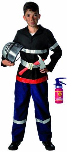 Caritan - 59446 - Costume - Sapeur Pompier - 5 À 7 Ans