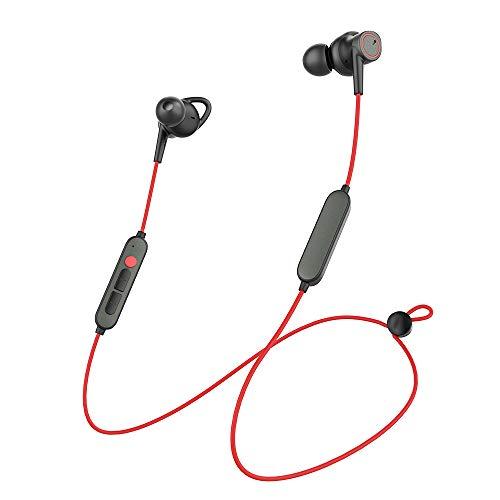 【Upgraded】 Bluetooth Kopfhörer in Ear, Kabellose Kopfhörer für Sport, Wireless Headphones mit HD-Mikrofon IPX6 Wasserdicht 8 Std Spielzeit 3EQ Einstellungen Magnetisch für iPhone/Android