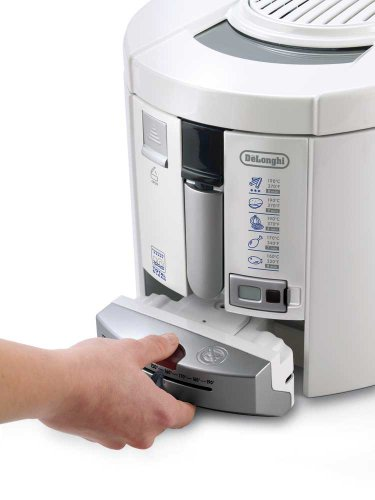 DeLonghi F 26237 Fritteuse mit Total Clean System 1800 Watt - 2