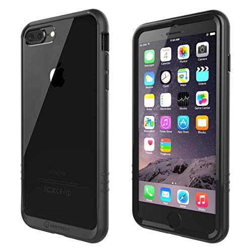 New Trent 5.5-inch iPhone 7 Plus Case iPhone 8 Plus Case Skyrika 7P Full-Body Transparent Protection Case with Built-in Screen Protector for Apple iPhone 7 Plus and iPhone 8 Plus