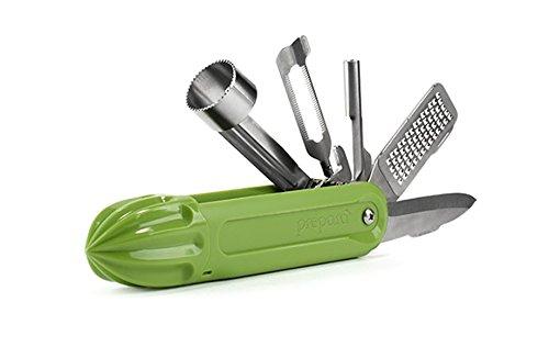 Prepara Fruity Multi-use Fruit Tool, 1.35 x 6.15 x 1.38 inch, Green